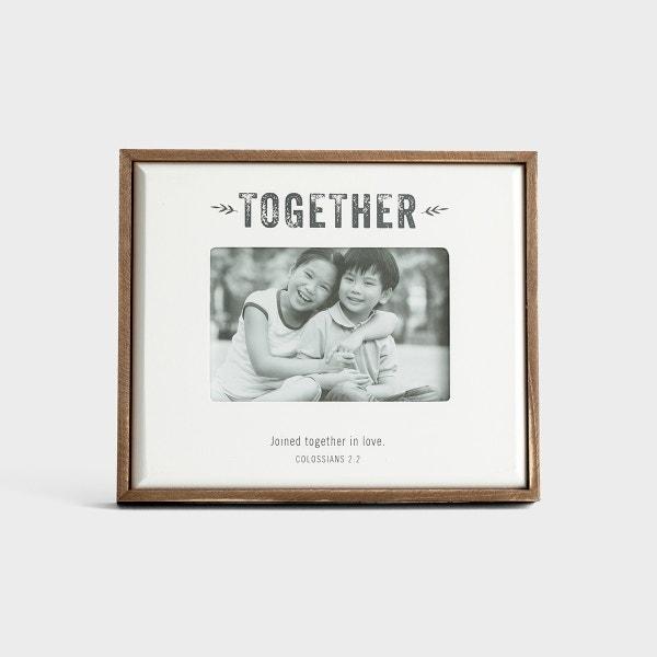 Together - Wooden Photo Frame
