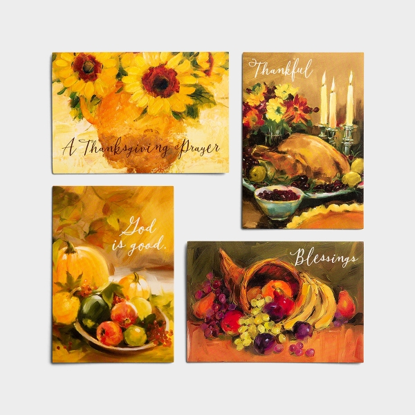 Thanksgiving - Gather At The Table - 12 Boxed Cards