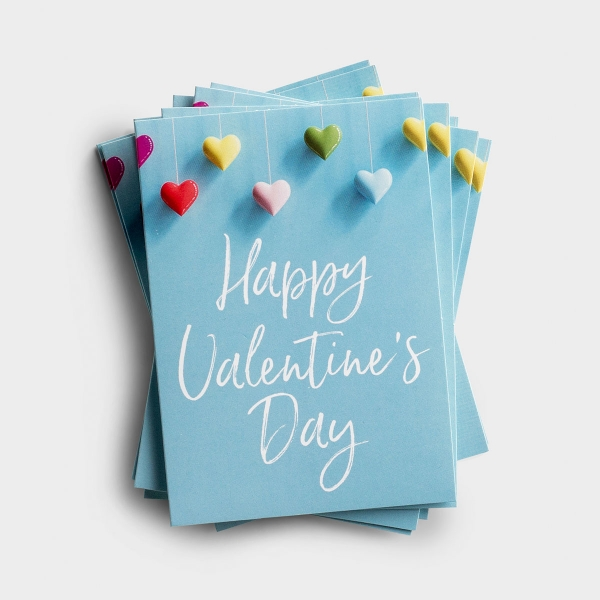 Send 'Happy Valentine's Day' handwritten messages of love to those who are dear to your heart with these blank, Christian Valentine's Day note cards from DaySpring.