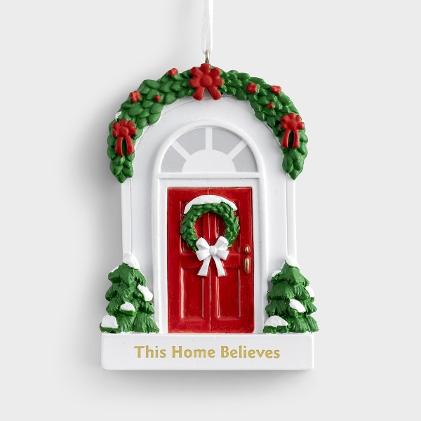 This Home Believes - Christmas Ornament