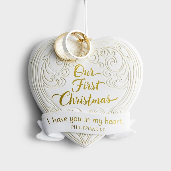 Our First Christmas - Christmas Ornament