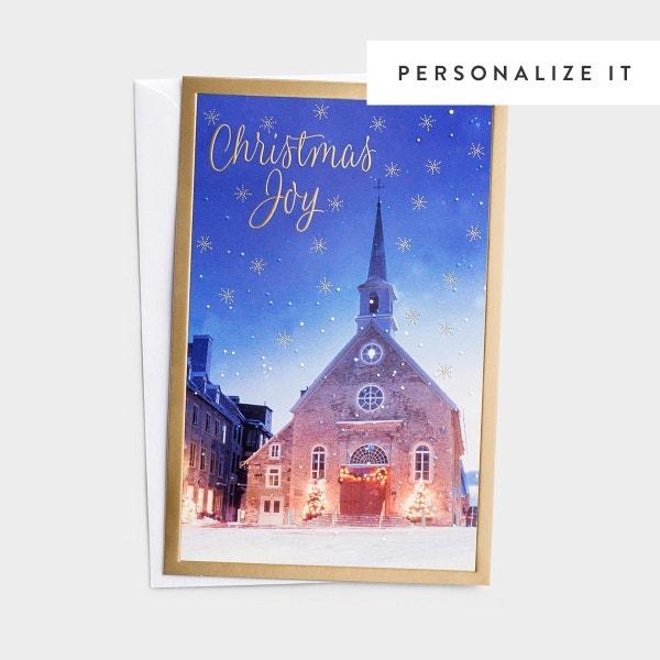 Christmas Joy - 50 Christmas Boxed Cards