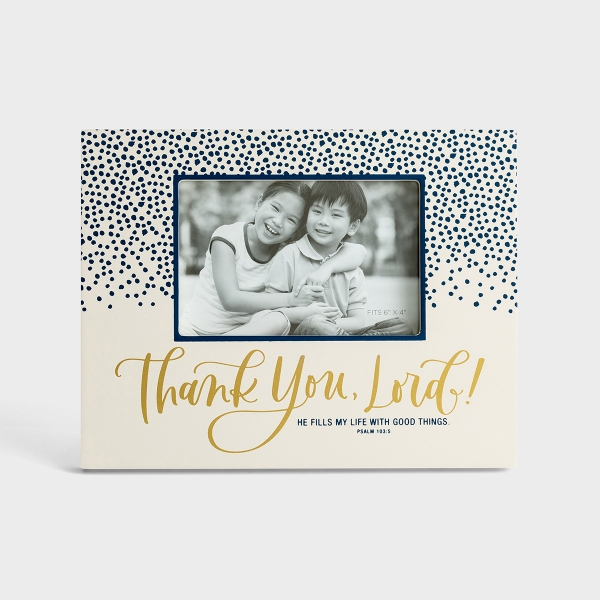 Thank you, Lord - Picture Frame