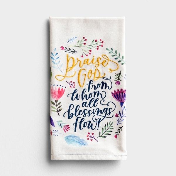 Praise God - Tea Towel