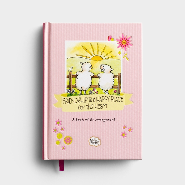 Really Woolly - Friendship Is A Happy Place - Devotional Gift Book