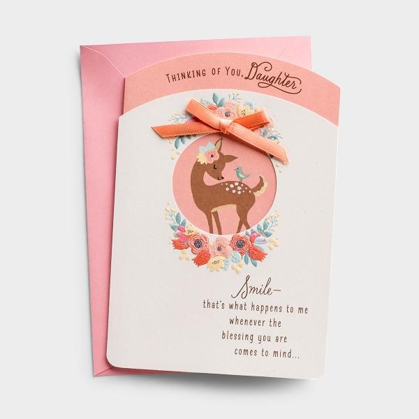 Easter - Daughter - Smile - 1 Premium Card