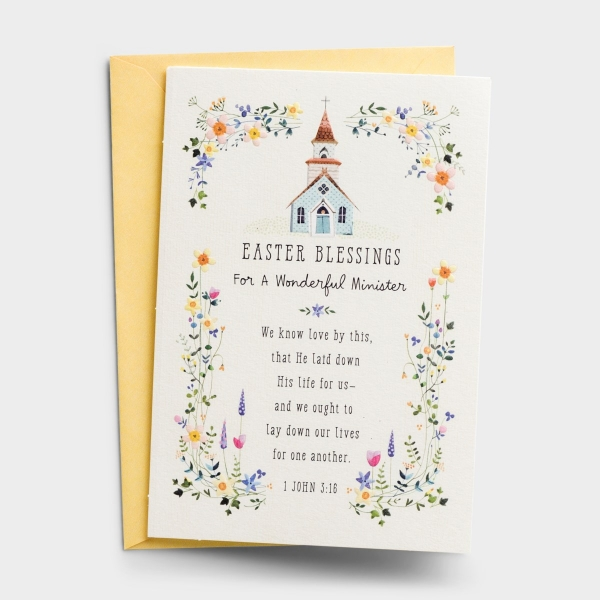 Easter - Wonderful Minister - 1 Greeting Card