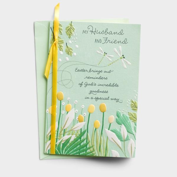 Easter - Husband - My Friend - 1 Greeting Card