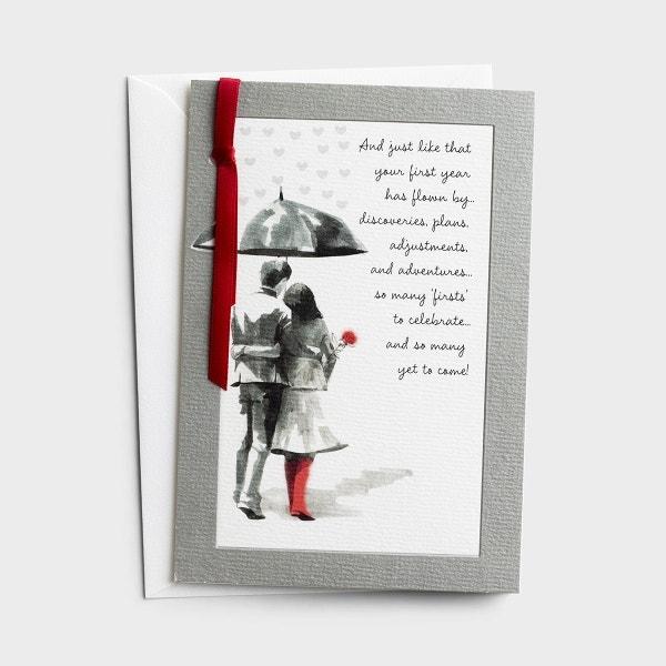 Anniversary - 1st Anniversary - 1 Premium Card