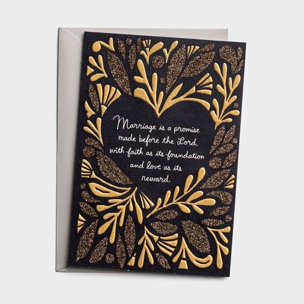 Wedding - A Promise Made - 1 Premium Card