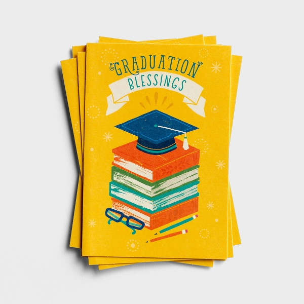 Graduation - Blessings - 6 Note Cards