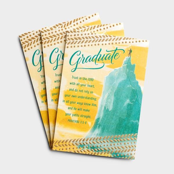 Graduation - New Plans and Adventures - 3 Premium Cards