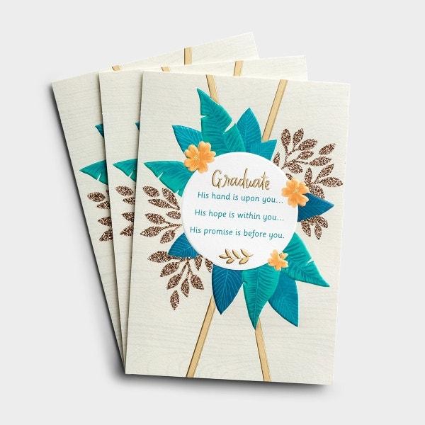 Graduation - His Promise - 3 Premium Cards