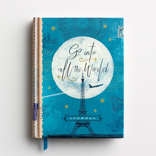 Every adventure and grand plan deserves to be captured and remembered. The perfect travel gift, this beautiful journal is filled with lined pages, encouraging Bible verses, and inspiring quotes. With plenty of space to capture encounters, experiences