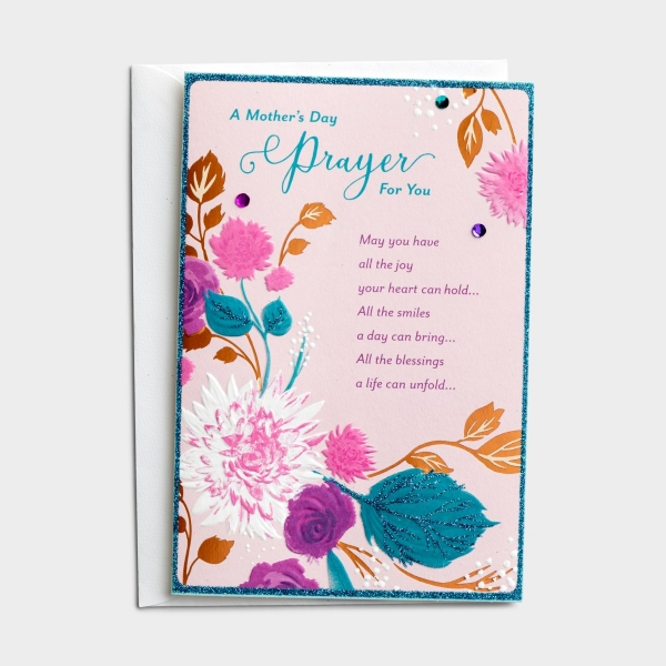 Mother's Day - For Anyone - A Prayer For You - 1 Greeting Card