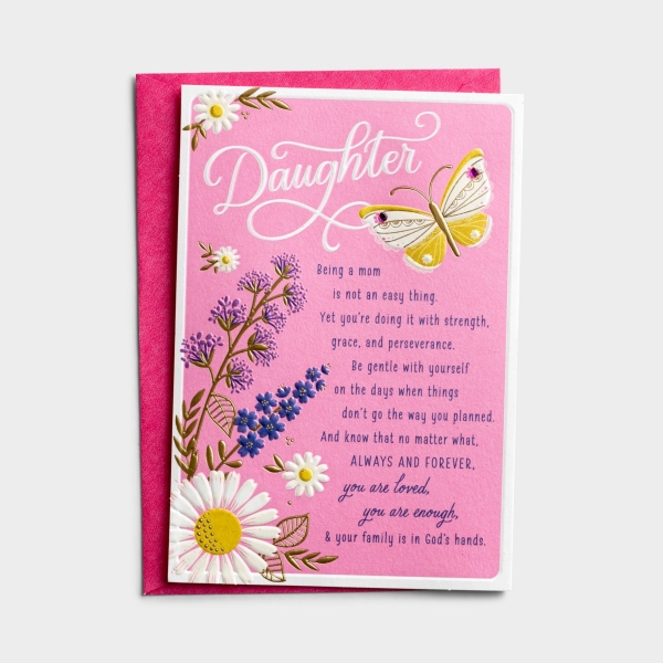 Mother's Day - Daughter - You Are Enough - 1 Greeting Card
