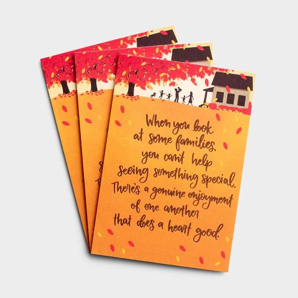 Thanksgiving - Genuine Families - 3 Premium Cards