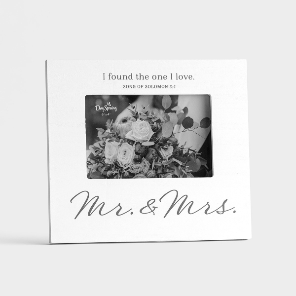 "Mr. & Mrs. - 4""x6"" Photo Frame"