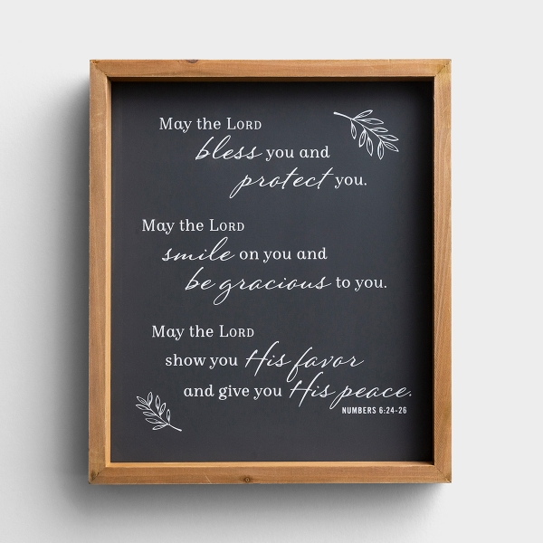 The Lord Bless You - Framed Wall Art