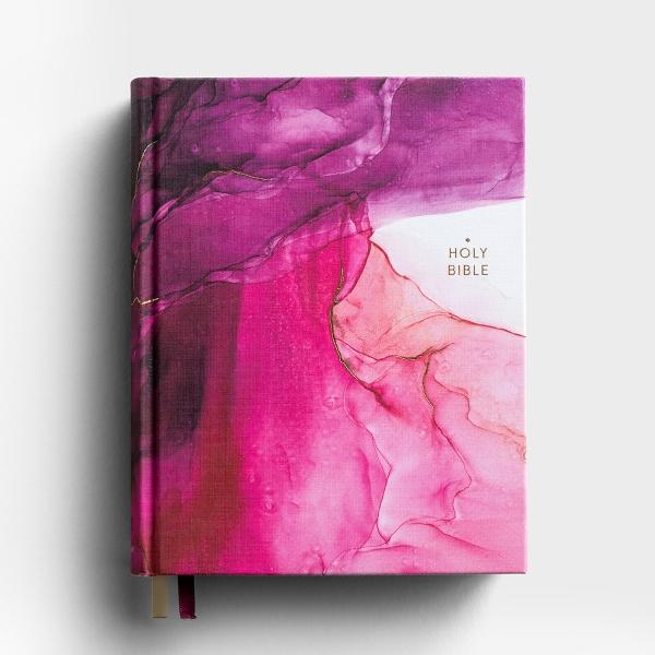 NIV Artisan Collection - Journaling Bible - Cloth Hardcover, Pink