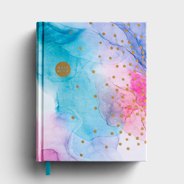 NIV Artisan Collection for Girls - Journaling Bible - Cloth Hardcover, Multi-Color