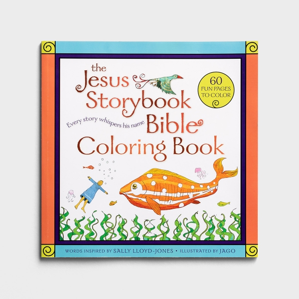 The Jesus Storybook Bible - Coloring Book for Kids
