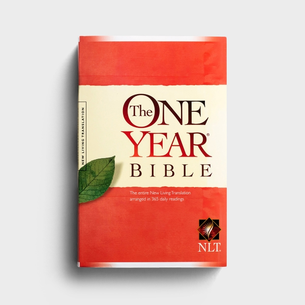 NLT The One Year Bible - Softcover