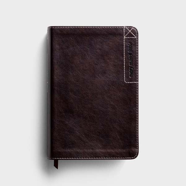 NLT Every Man's Bible - Deluxe Explorer Edition - Leatherlike