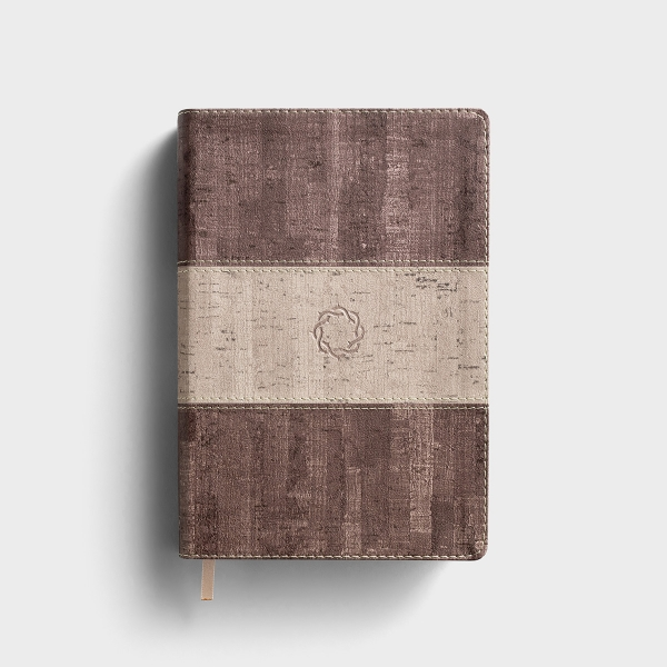 CSB Essential Teen Study Bible - Weathered Gray Cork LeatherTouch