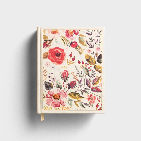 CSB Notetaking Bible - Floral Cloth Hardcover