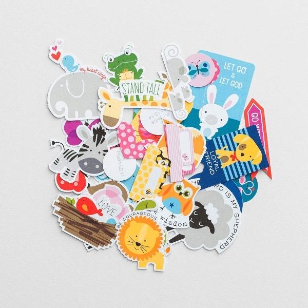 Illustrated Faith - Animals - 31-Piece Die Cut Prompts