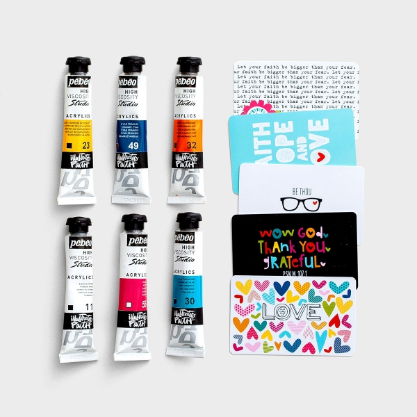 Illustrated Faith - Shanna's Favorite Paint Set and Paint Cards