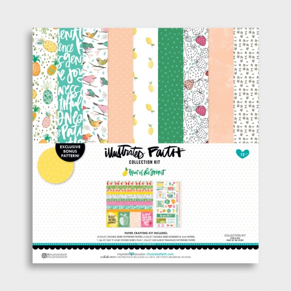 Illustrated Faith - Fruit of the Spirit - Collection, Set of 14 Sheets