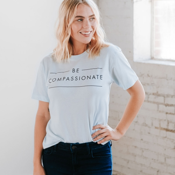 Candace Cameron Bure - Be Compassionate - Relaxed Fit T-Shirt