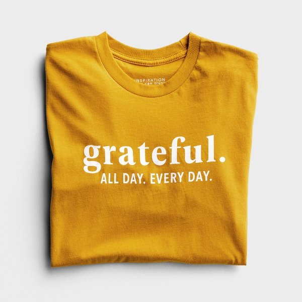 Candace Cameron Bure - Grateful - Relaxed Fit T-Shirt
