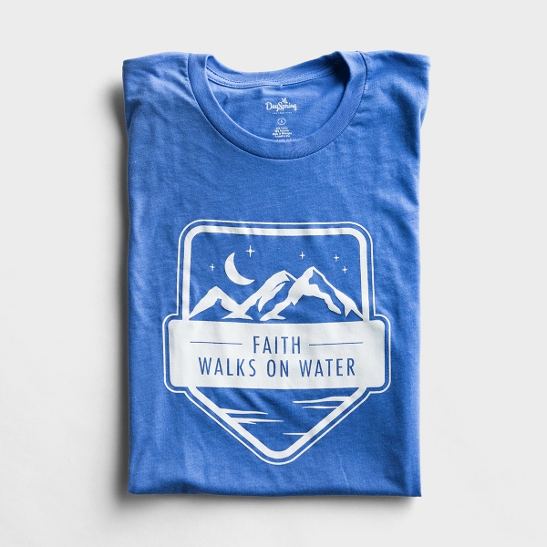 Faith Walks on Water - Relaxed Fit T-Shirt