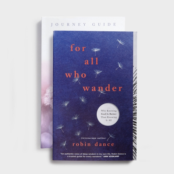 Robin Dance - For All Who Wander Book and Journey Guide