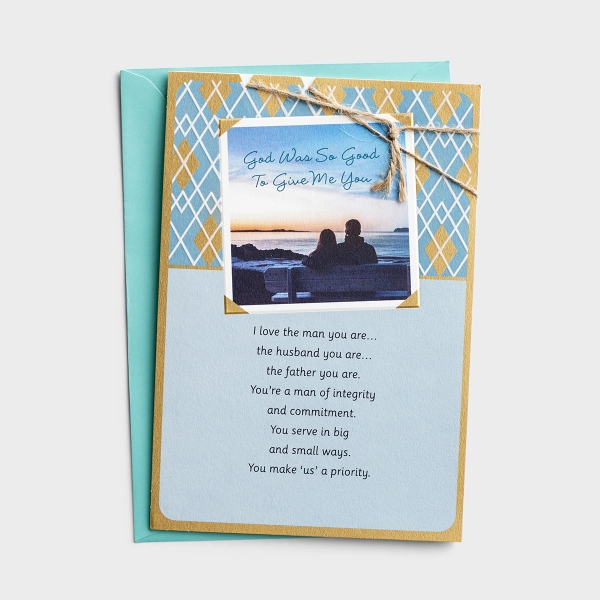 Father's Day - For Husband - The Man You Are - 1 Premium Card