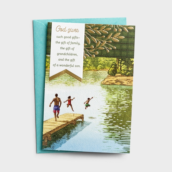 Father's Day - For Your Son - Such Good Gifts - 1 Premium Card
