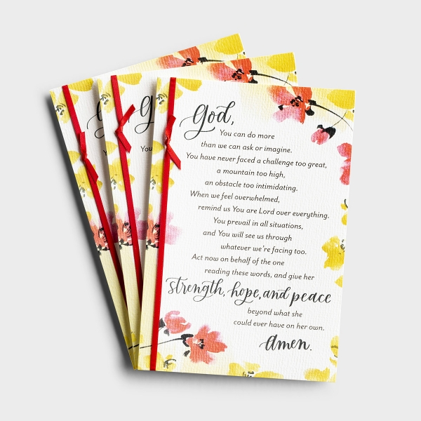 Holley Gerth - Give Her Strength - 3 Premium Cards