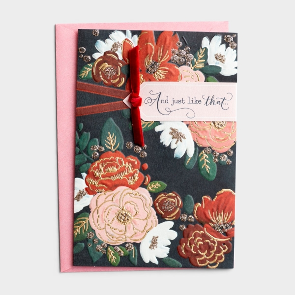 Birthday - For Her - Beautiful - 1 Greeting Card