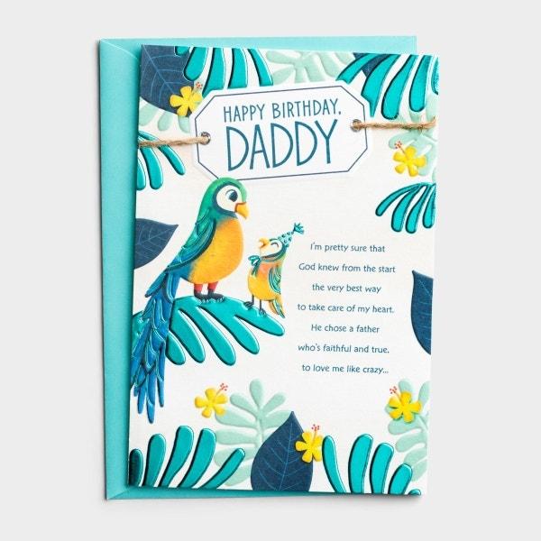 Birthday - Dad - Lots of Love - 1 Greeting Card