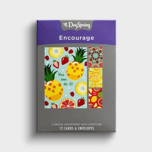 Encouragement – Fresh Fruit - 12 Boxed Cards