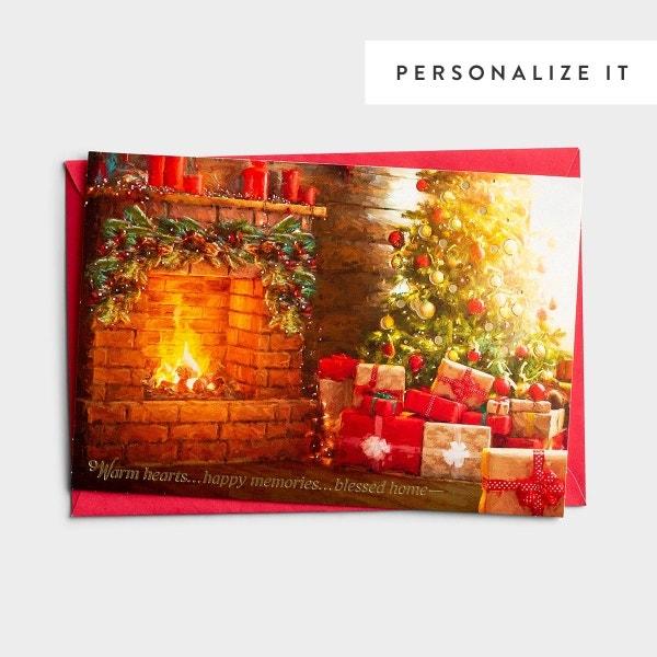 Warm Hearts - 18 Christmas Boxed Cards, KJV