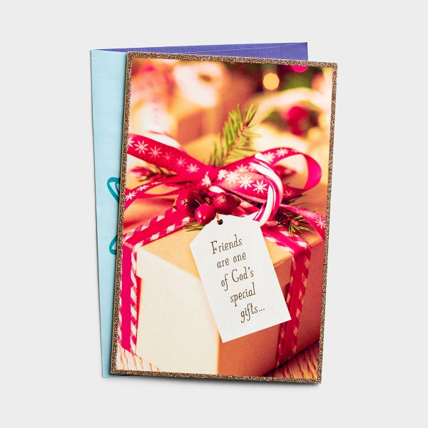 Friends Are Special Gifts - 18 Christmas Premium Boxed Cards, KJV