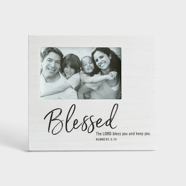 Blessed - Wooden Photo Frame