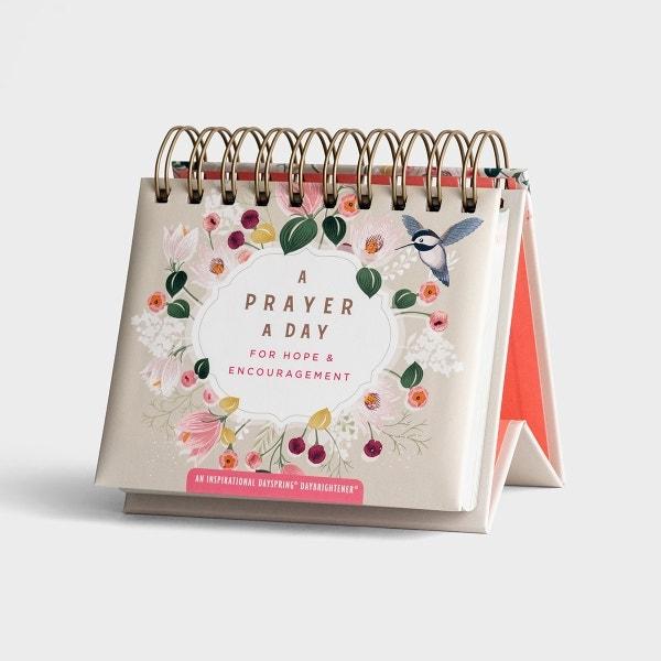A Prayer A Day For Hope & Encouragement - Perpetual Calendar