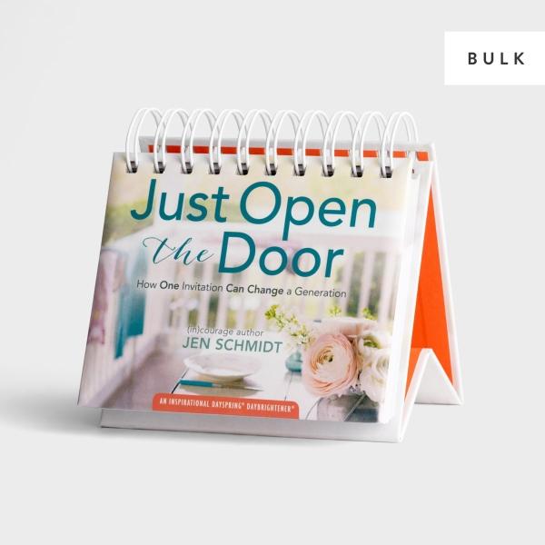 Just Open the Door Perpetual Calendar - 24 units - Bulk Discount