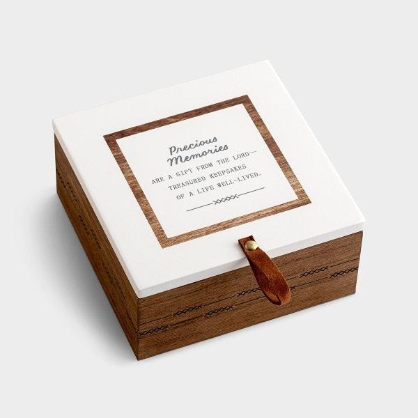 Precious Memories Keepsake Box