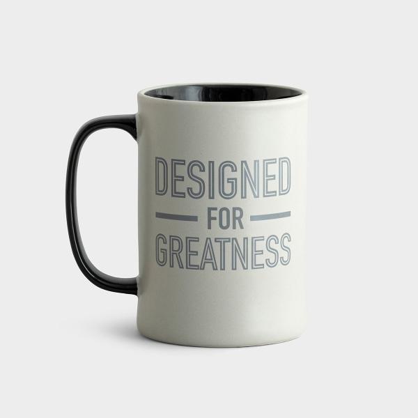 Designed For Greatness - Ceramic Mug